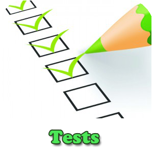 Listado de test para oposiciones