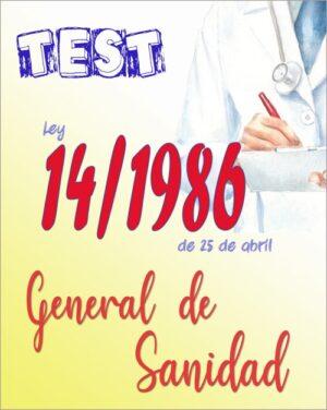 test ley 14/1986 general de sanidad