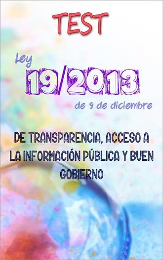 test ley 19/2013