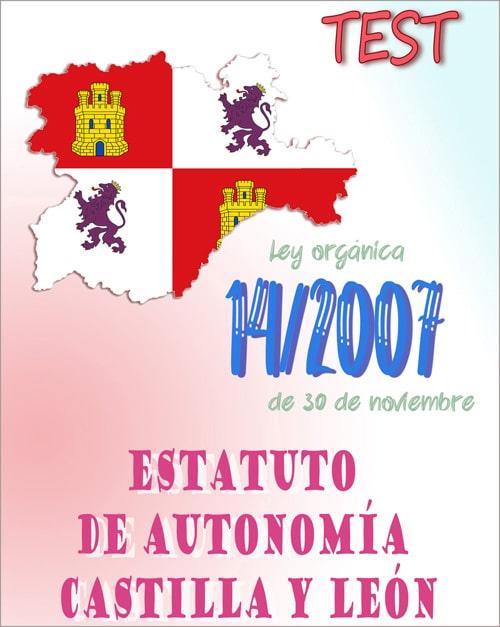 Test Estatuto Autonomia Castilla y Leon