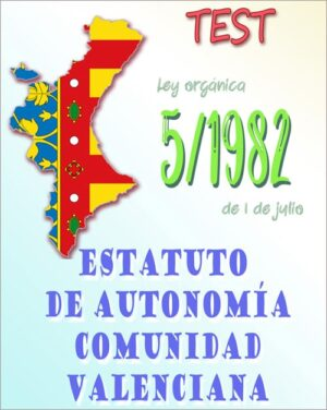 test estatuto autonomia comunidad valenciana