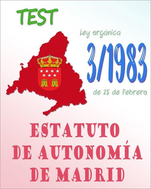 test estatuto autonomia madrid