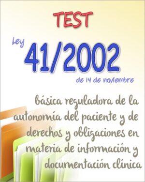test ley 41/2002