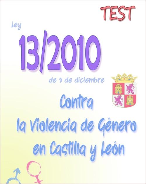test ley 13/2010 violencia genero castilla y leon PDF